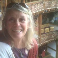 Christine at the Globe